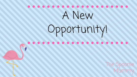A New Opportunity!