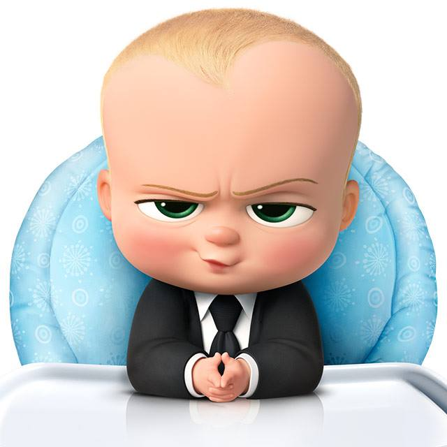 boss baby high chair