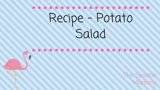 Recipe – Potato Salad