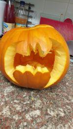 Batman Pumpkin 2017