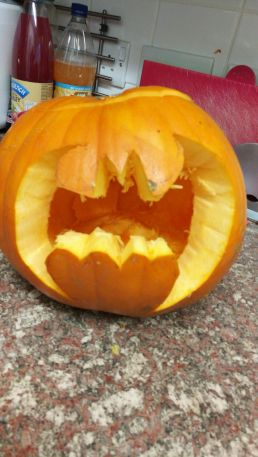 Batman Pumpkin 2017