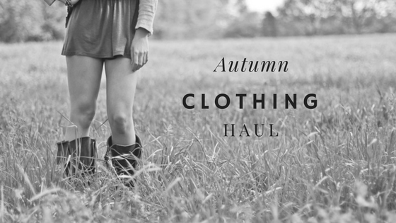Autumn Clothing Haul