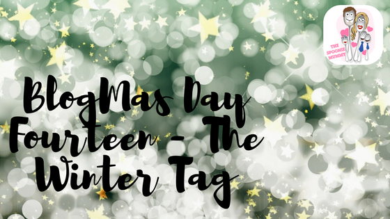 BlogMas Day Fourteen – The Winter Tag