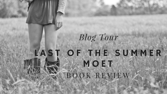Blog Tour Book Review – Last Of The Summer Moet