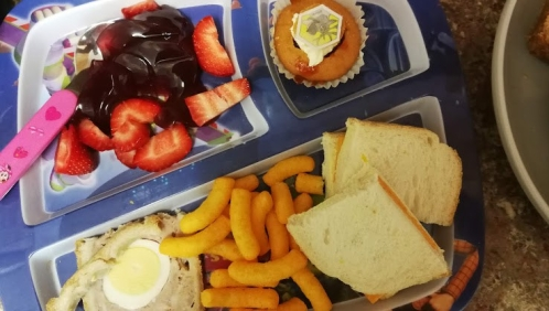 Toddler Food Diary - Lunch